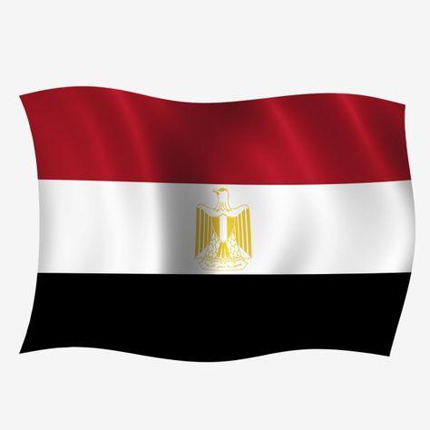 Egypt Wave Flag Egypt Flag Egyptian Flag Egypt