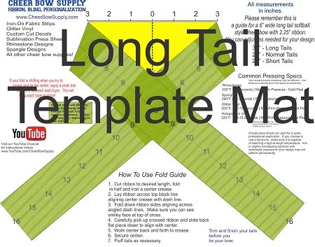 photo regarding Cheer Bow Template Printable identified as How toward Crank out a Cheer Bow - Hairbow Components, And so on. - YouTube