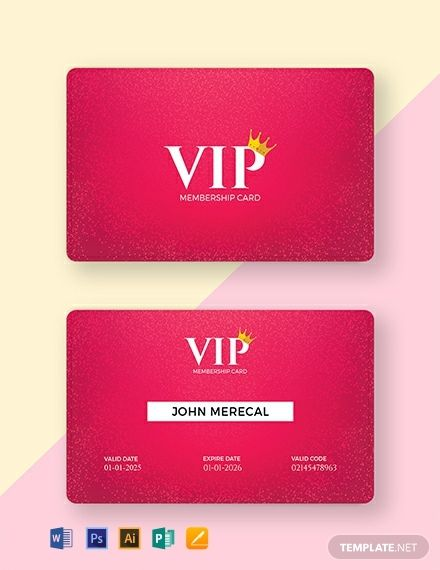 Free Official Lifetime Membership Card Template Word Doc Psd Apple Mac Pages Illustrator Publisher Membership Card Card Templates Free Free Business Card Templates