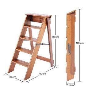 Top 5 Best Wooden Ladders Reviews In 2020 Sillas De Comedor Tapizadas Diseno De Escalera Escaleras Plegables