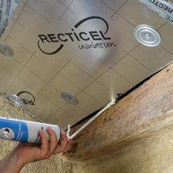 Isoler Une Toiture Par L Interieur Avec Des Panneaux De Polyurethane Panneau Isolant Toiture Isolation Toiture Isolation Combles