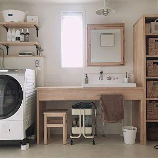 棚 洗面所 ワゴン ワゴン式収納ボックス 造作洗面台 などの