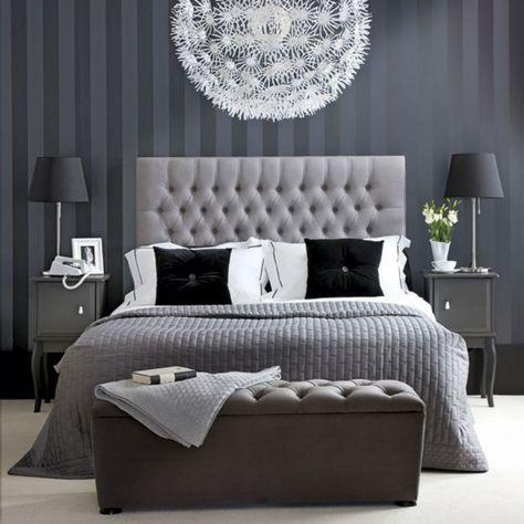Simona izzo ci guida nell`intimità delle camere da letto. Camere Da Letto In Stile Cinquanta Sfumature Di Grigio Fresh Bedroom Elegant Bedroom Home Decor Bedroom