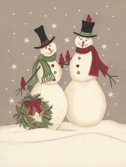 Frosty Jolly Snowman Helz Cuppleditch Christmas Cross Stitch Chart X