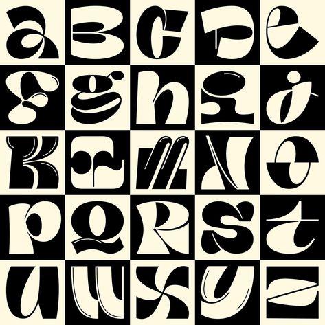 36 Days of Type on Behance Typographic Design, Graphic Design Typography, Graphic Design Posters, Lettering Design, Logo Design, Graffiti Lettering, Typography Letters, Typography Logo, Typographie Inspiration