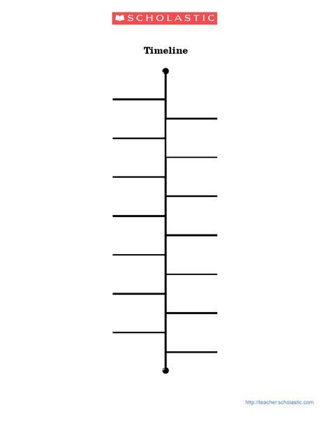 Blank Timeline Template 15 Blank timeline template 15 2