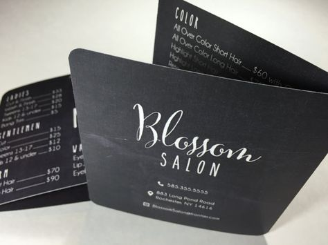 Salon Brochure Design  Graphic Design Inspiration