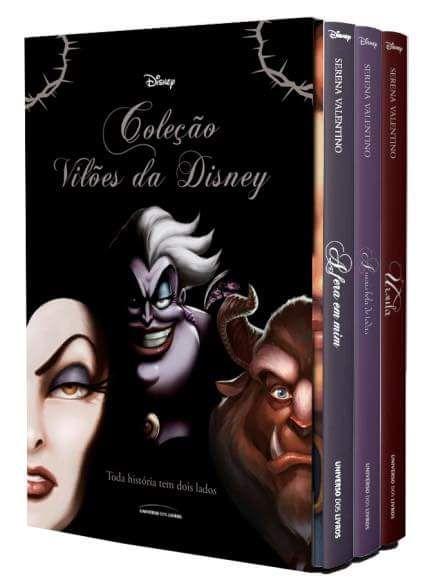 Viloes Da Disney Livros Box Livros Recomendados Leitura De Livros