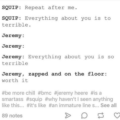 Jeremy Heere and the Squip