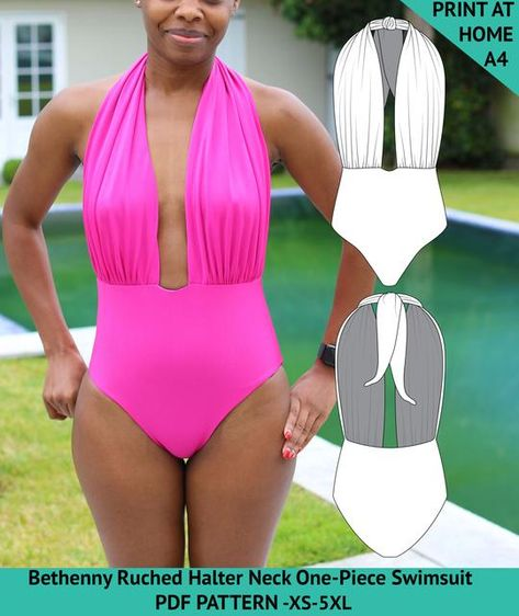 GigiPatterns is PDF sewing patterns company based in London, England. We sell Swimwear and Womenswear pdf sewing patterns.