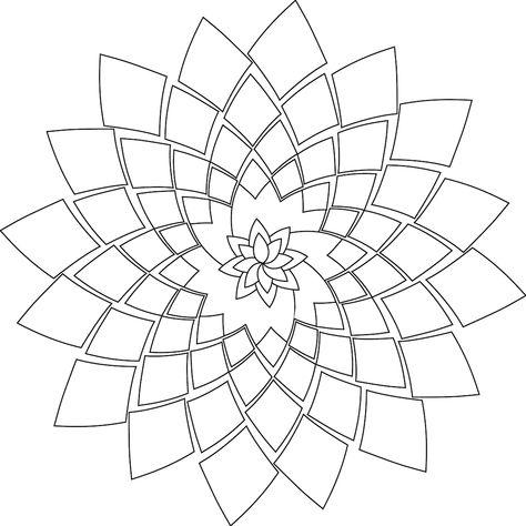 This mandala looks a lot a rosette [cactus…