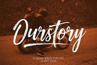 Ourstory Font Duo Font By Rckystudio