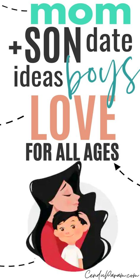 Mom Discover 75 MOM & SON DATE IDEAS BOYS LOVE! Perfect mom and son bonding ideas for your mom and son bucket list. Try these epic dates with your child and make memories! Mommy And Son, Mom Son, Mother Son, Mother Daughters, Parenting Advice, Kids And Parenting, Gentle Parenting, Raising Boys, Activities For Kids
