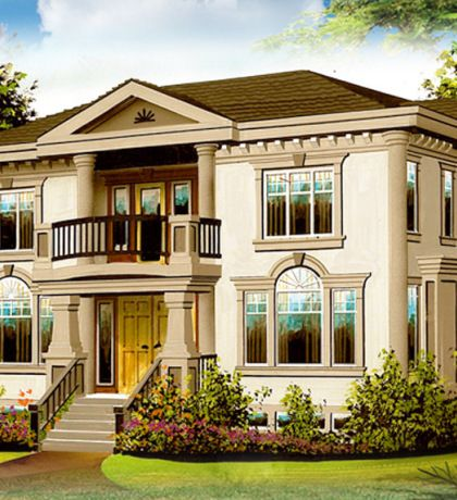 Image Result For Neoclassical House Plans House Styles Architecture House House Plans