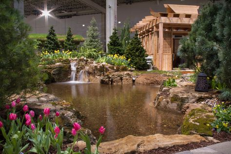 Chicago Flower U0026 Garden Show 2014   Aquascape Designs | Flower Shows And  Installations | Pinterest | Gardens And Water Features