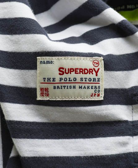 Superdry Dropped Breton Polo
