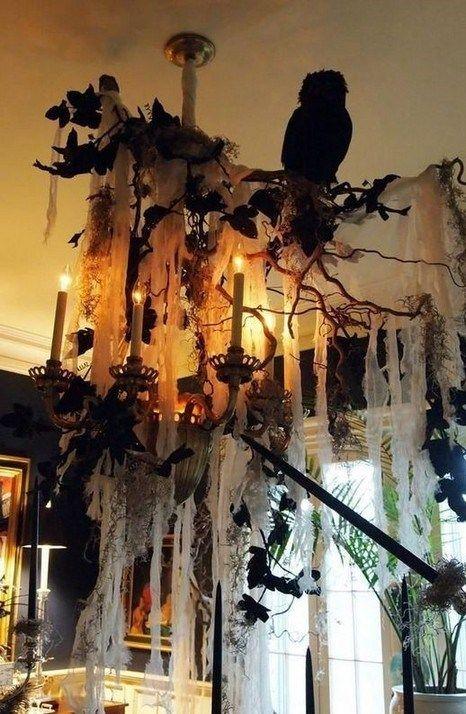 15 Stunning Halloween Decorations Indoor Ideas Decoration Halloween Idee Deco Halloween Bricolage Halloween Decoration