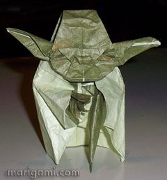Origami Lady Box Tutorial (José Meeusen) - Paper Kawaii   258x240