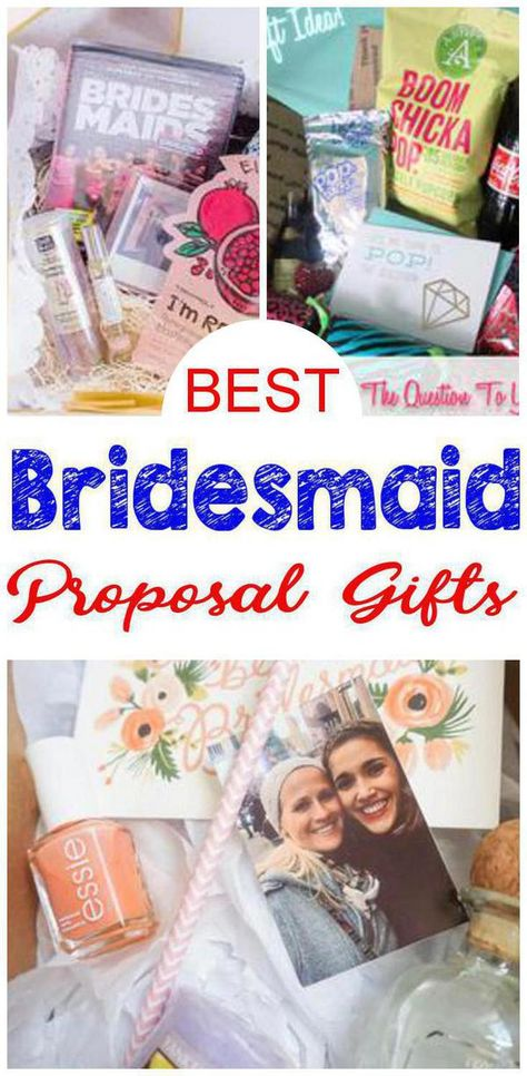 Bridesmaid Proposals! BEST bridesmaid proposal gifts for future bridesmaids and maid of honor. Easy, creative, unique and cute bridesmaid proposal gift ideas. DIY, Simple, cheap and elegant bridesmaid proposal gifts everyone will love. So come check out the most AMAZING bridesmaid proposal gifts for your future bride tribe!