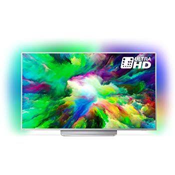 Philips 65pus7303 12 164 Cm 65 Zoll Led Fernseher Ambilight 4k Ultra Hd Triple Tuner Smart Tv Amazon De Heimkino Tv Video Fernseher Heimkino