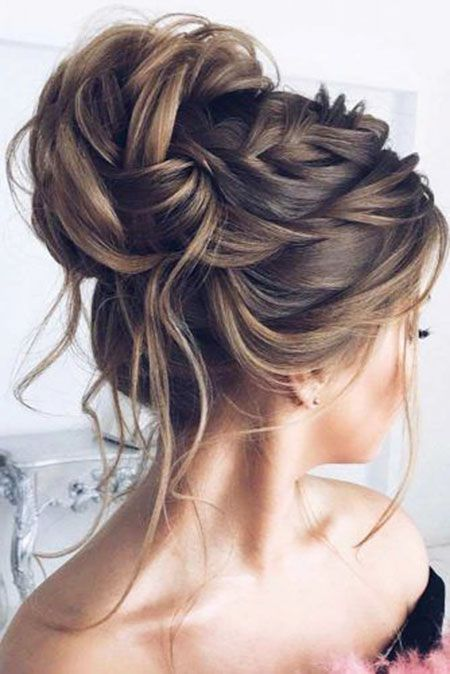 Hairtyles Haarfrisur Geflochten Hair 1 In 2019 Bridesmaid Hair