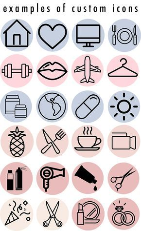 Custom Instagram Story Highlight Icons Now Available Instagram Highlight Icons Instagram Icons Instagram Design