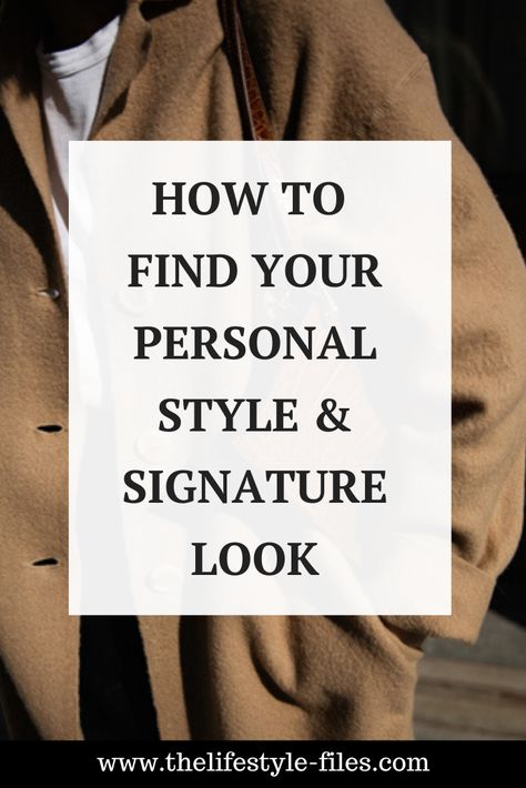 A minimalist guide to personal style
