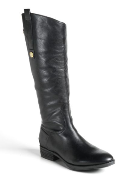 f9decdd6a18 Sam Edelman - Penny Riding Boots | Well-Heeled | Boots, Black riding ...