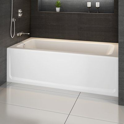 Jacuzzi Signature 60 X 32 Alcove Bathtub In Skirted