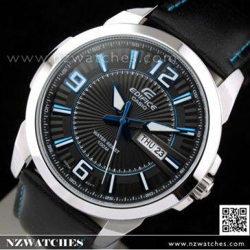 Casio Edifice Day Date Genuine Leather Strap Watch EFR-103L-1A2V 4d3d8d8b0