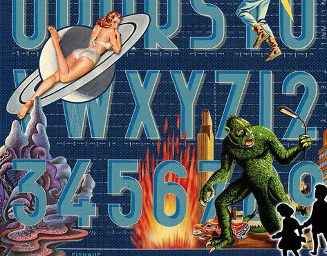 Louis Fishauf Digital Collage - STRIPES