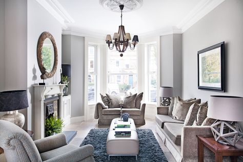 Terrace House Interior Design Ideas With Beautiful Chandelier And White Curtain Window Victorian Living Room Livingroom Layout Living Room Renovation