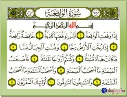 Hasil Gambar Untuk Kelebihan Surah Al Waqiah Gambar