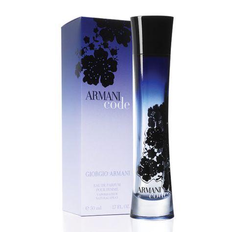 Armani Code: Sexy, evening-type fragrance.