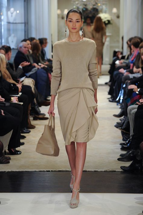 Soft tonal colors from Ralph Lauren Collection Pre-Fall 2014   Mi ... 9aa690fdc051