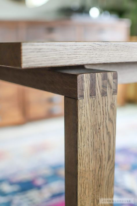 Dining Table Joints
