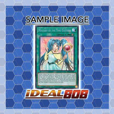 1st E SHVA-EN007 YGO-1x-Near Mint-Mischief of the Time Goddess Secret Rare