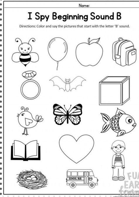 10+ Kindergarten phonics worksheets ideas in 2021