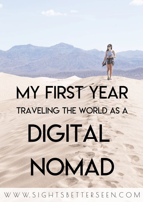 My First Year as a Digital Nomad: Reflections from 2019 - Sights Better Seen