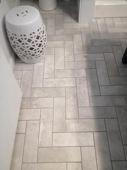 User Submitted Photo Flooring Tile Floor Bungalow Kitchen