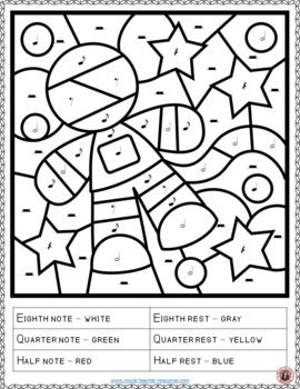 Music Lessons Music Coloring Pages 15 Space Themed Color By Music Notes And Rests Musiceducat Music Coloring Music Lessons For Kids Music Theory Worksheets
