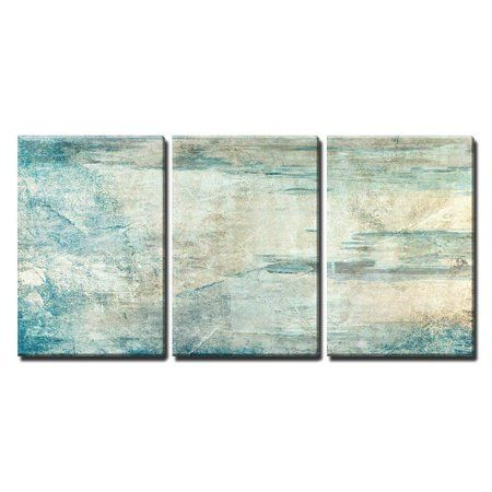Wall26 3 Piece Canvas Wall Art Abstract Grunge Artwork Modern Home Decor Stretched And Framed Ready To Hang 24 X36 X3 Panels Walmart Com Grunge Artwork Canvas Wall Art Abstract Art
