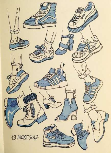 Drawing Clothes Ideas Anime Girls 34 Ideas Drawing In 2020 Drawing Clothes Drawing Anime Clothes Sneaker Art