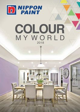 Colour My World 2020 Catalogue Nippon Paint Singapore Nippon Paint Wall Paint Colour Combination Living Room Colors