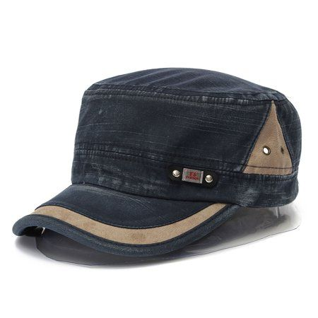 Cap Army Cadet Men Women Casual Baseball Cap Size Adjustable Hat Strap Military