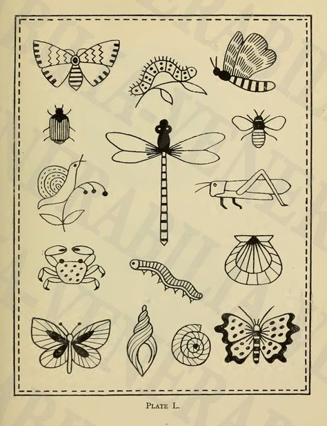 1917  Collection of 151 Vintage Embroidery by LithograghLibrary