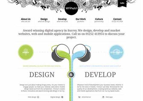 Symmetry In Web Design 05 Jpg 500 353 Portfolio Website Inspiration Web Design Awards Web Design Quotes