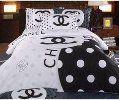 Draps Chanel Ensembles De Literie Decoration Chambre Decor De Lit
