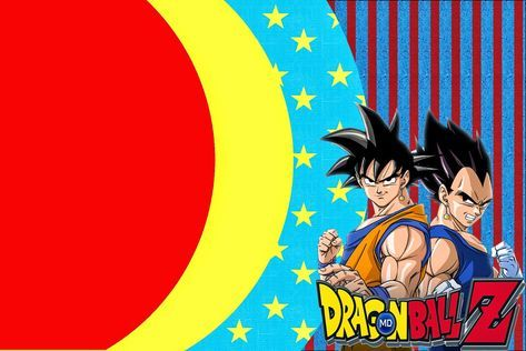 Dragon Ball Z Invitaciones Para Imprimir Gratis
