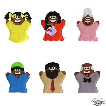 Fantoches Família Negra